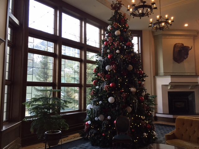 Cozy Castle Christmas Tree