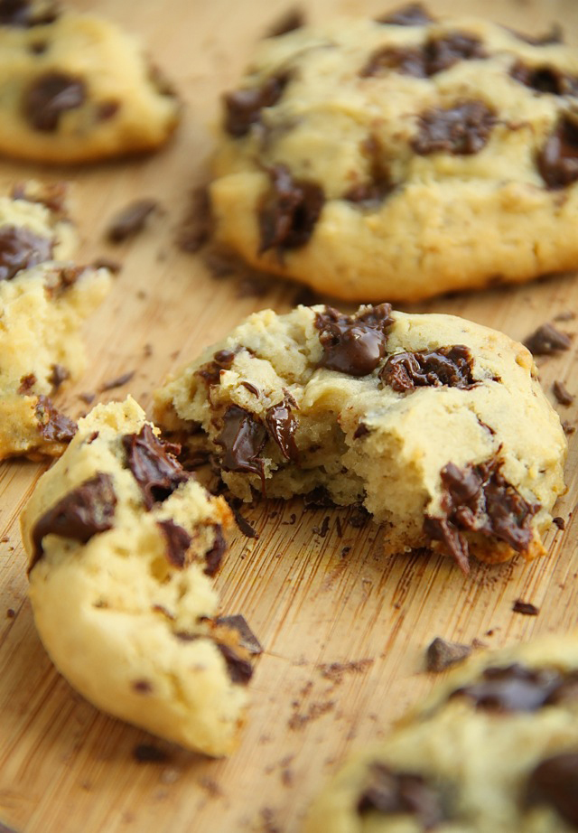 Chocolate Chip Cheesecake Cookies Runningwithspoons Com