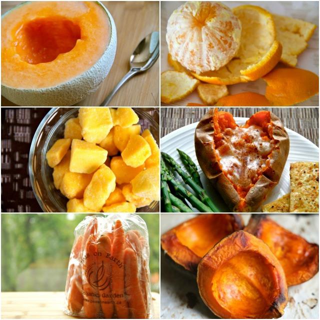 Orange Foods I Love