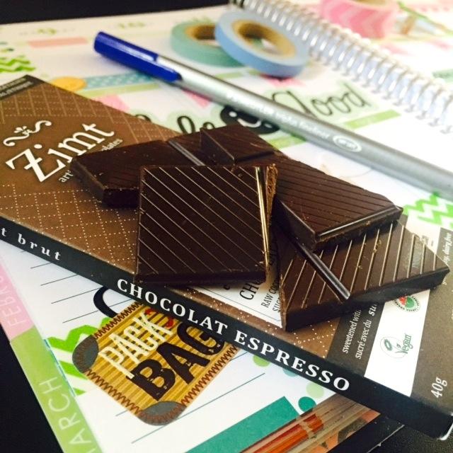 Zimt Espresso Chocolate