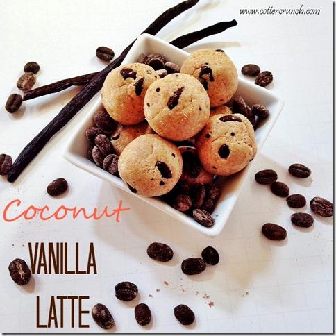 Coconut Vanilla Latte Bites