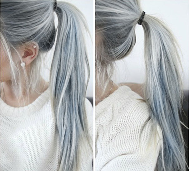 Granny Hair Trend
