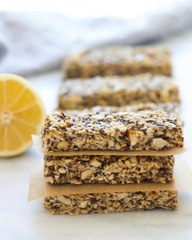 Lemon-Chia-Granola-Bars
