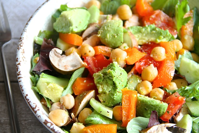 Loaded Lunch Salad