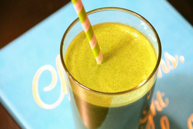 Super Green Morning Smoothie