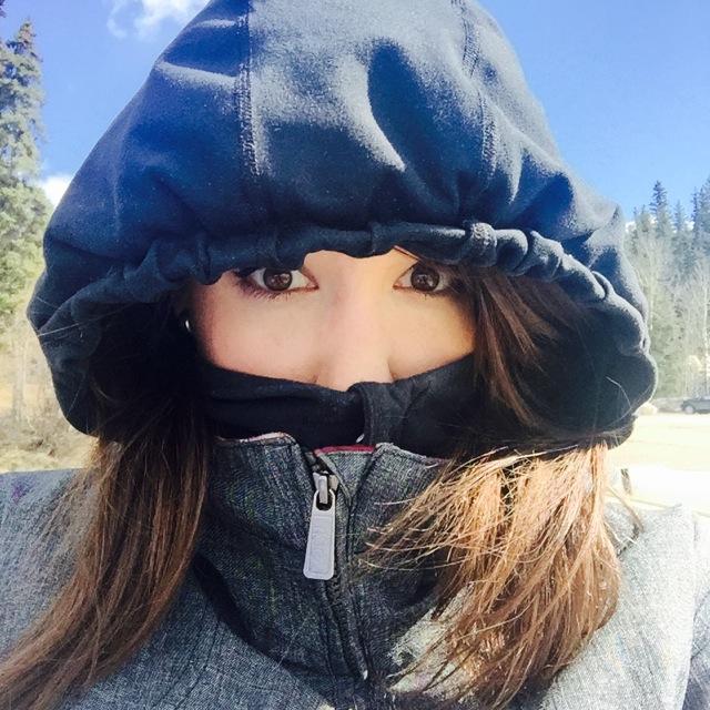 Windy Selfie