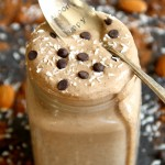 Almond Joy Overnight Oatmeal Smoothie