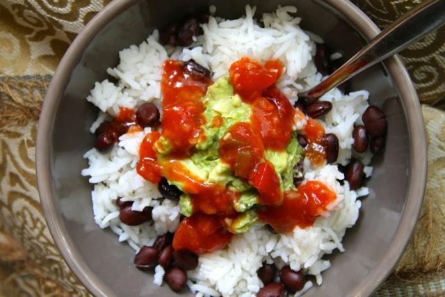 Coconut Rice Bowl