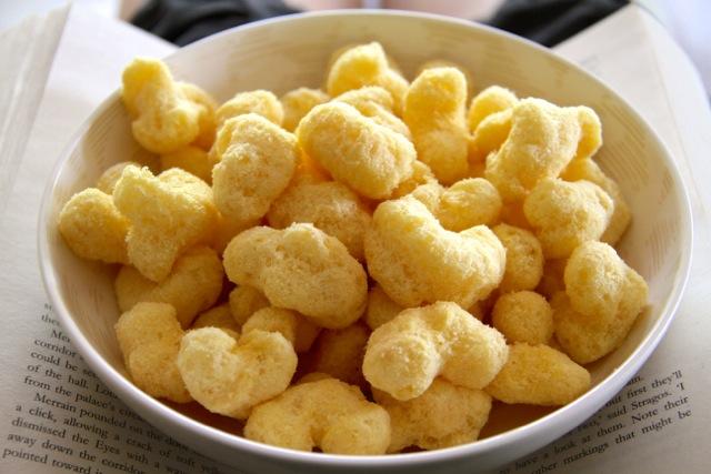 Earth Balance Vegan Cheese Puffs
