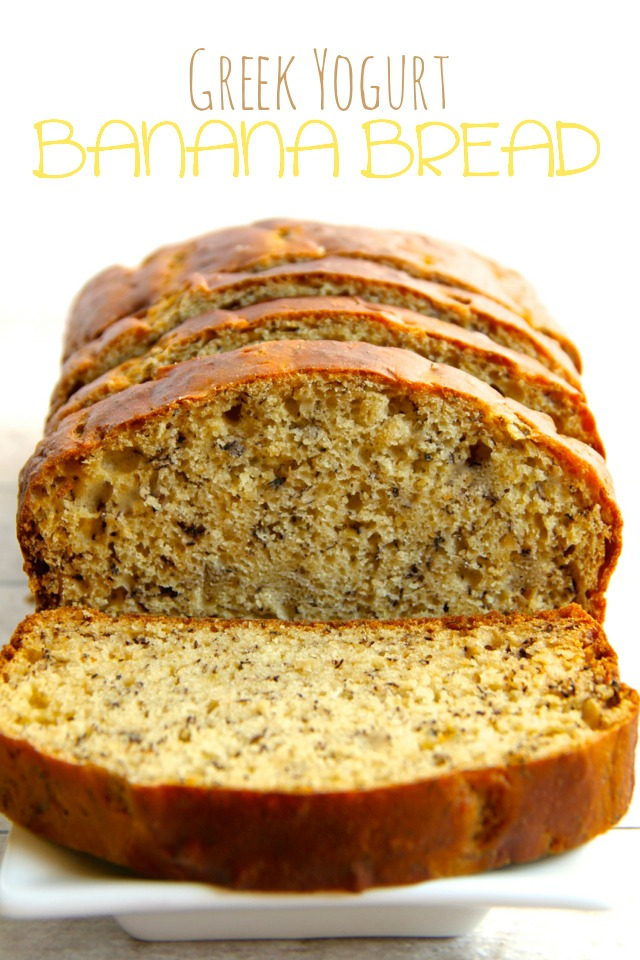 Greek Yogurt Banana Bread