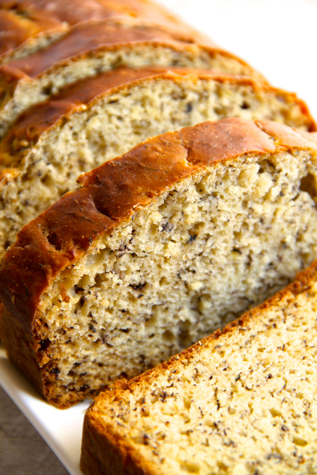 Greek Yogurt Banana Bread So Soft And Tender That You D Never Be