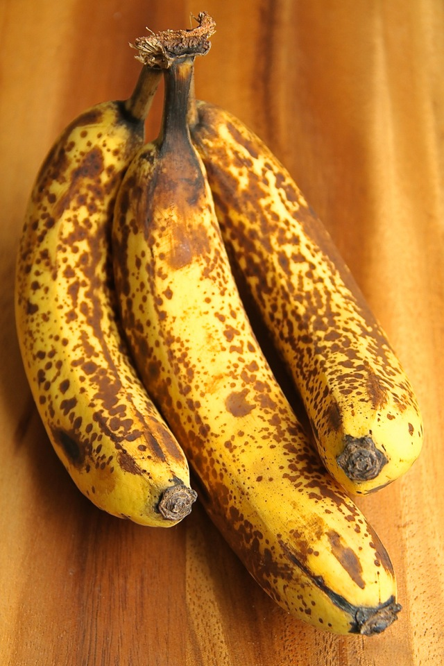 Ripe Spotty Bananas