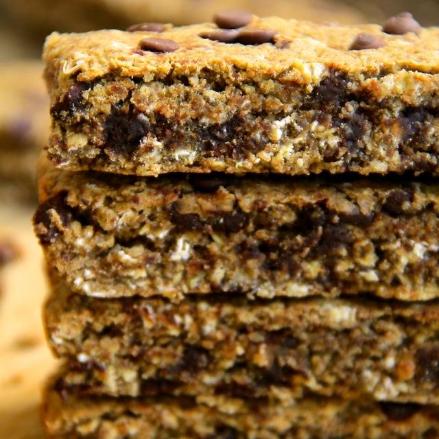 Cookie Dough Granola Bars