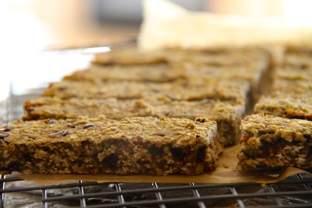 Cookie Granola Bars