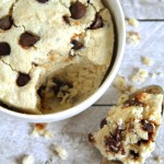 Oatmeal Cookie Dough Mug Cake