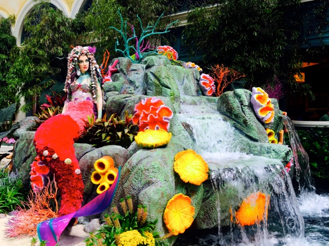 Bellagio Garden Mermaid