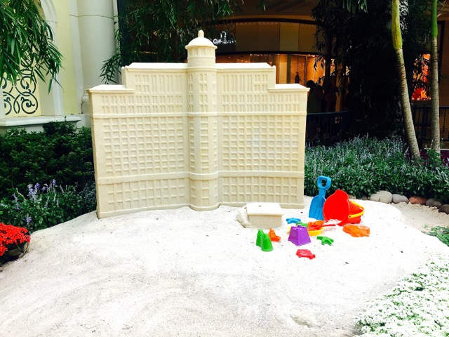 Bellagio Garden Sand Castle