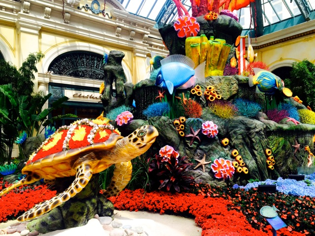 Bellagio Garden Turtle