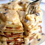 Chunky Monkey Greek Yogurt Pancakes5