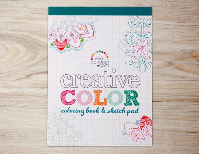 Erin Condren Coloring Book