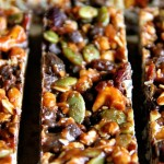 No Bake Sweet & Salty Trail Mix Granola Bars