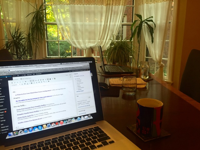 Early Morning Blogging