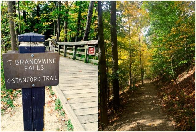 Hiking Brandywine Falls