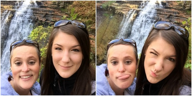 Meg and I at the Falls