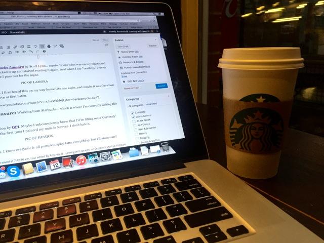 Working From Starbucks