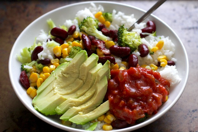 Broccoli Burrito Bowl