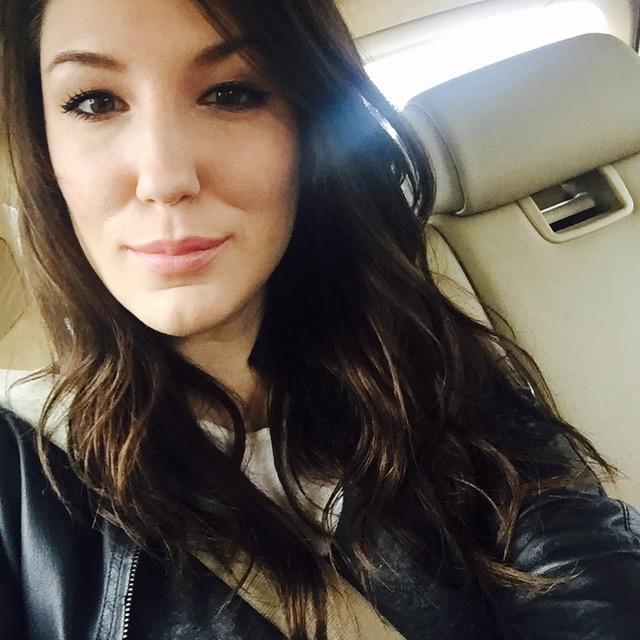 Curly Hair Selfie