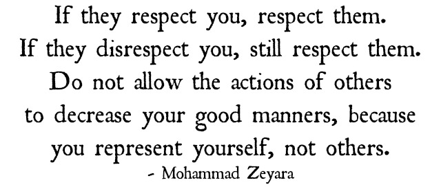 If They Respect You