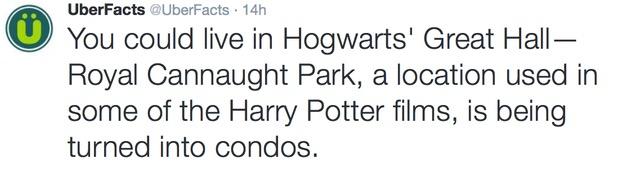 RF Living in Hogwarts