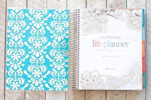 2016 Erin Condren Life Planner Inside Cover