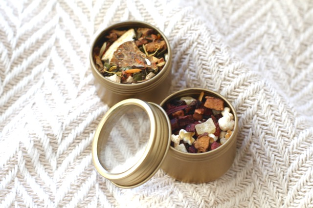 Advent Calendar Tea Tins
