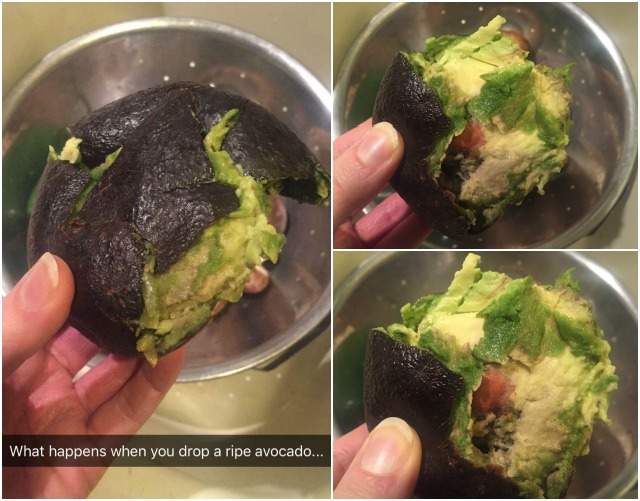Avocado Goes Splat