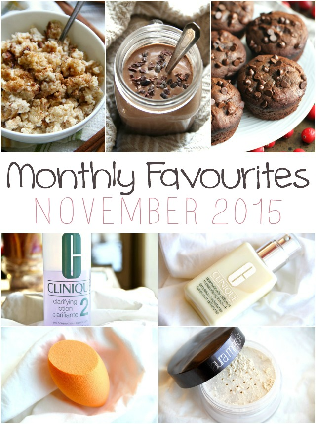 monthly favourites – november 2015