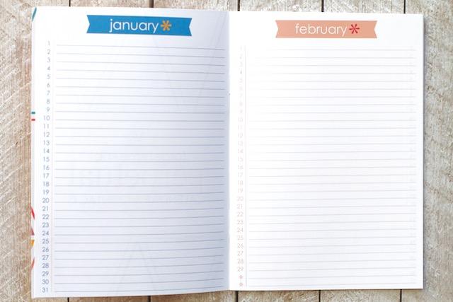 Perpetual Calendar Journal