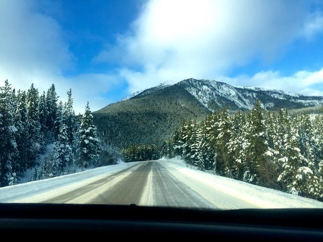 Road to Marmot