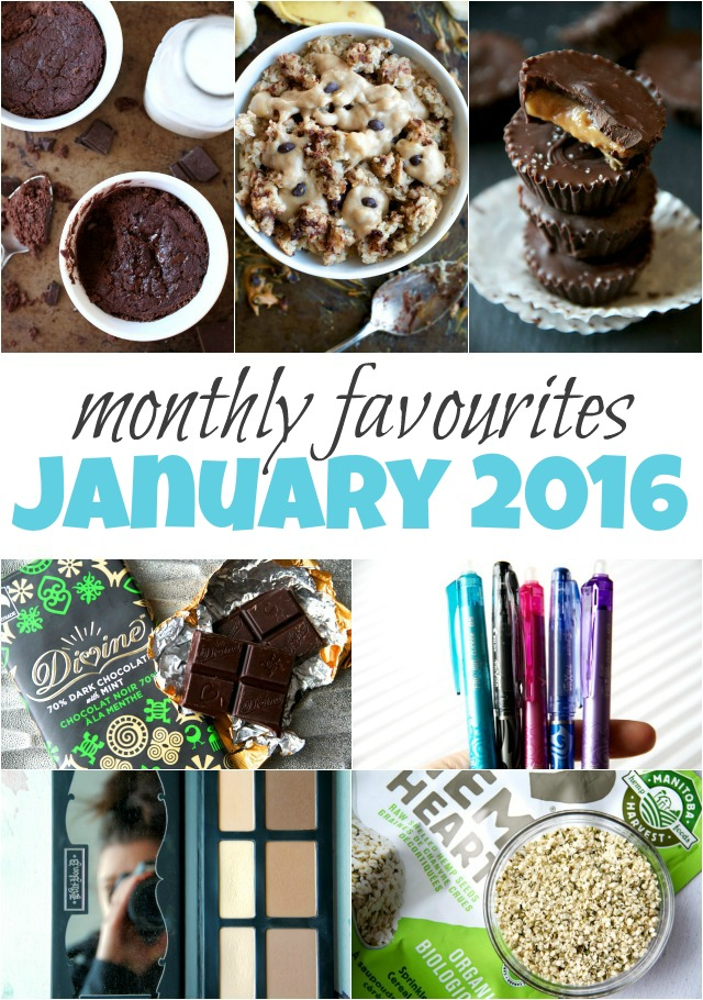 January 2016 Favourites