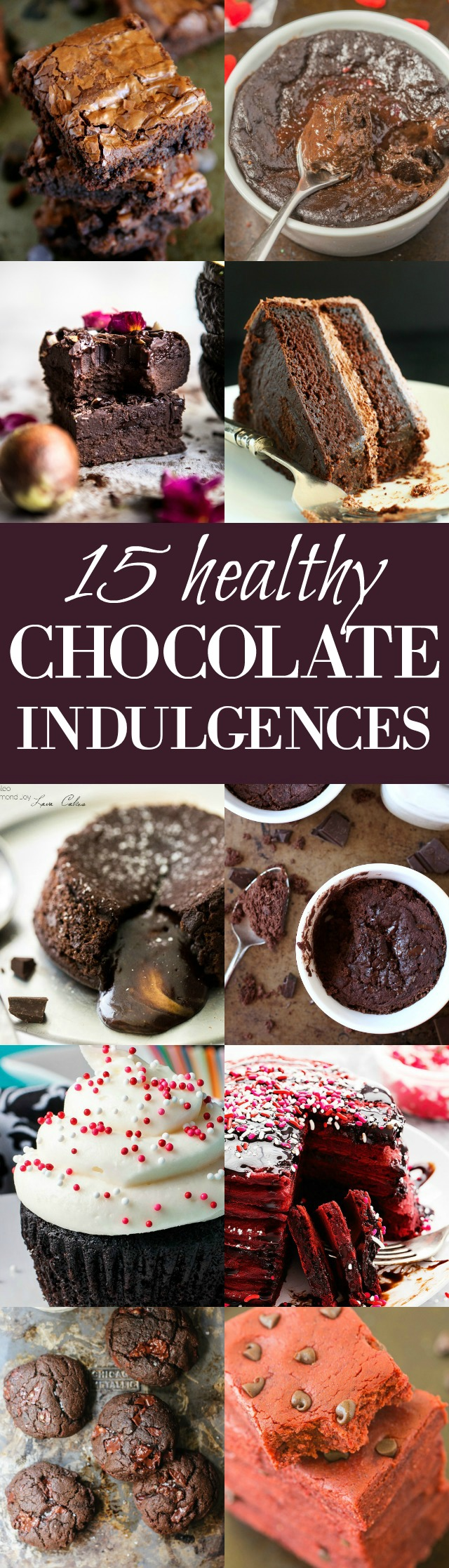 Satisfy those cocoa cravings with these chocolate indulgences that you'd never believe are healthy! | runningwithspoons.com