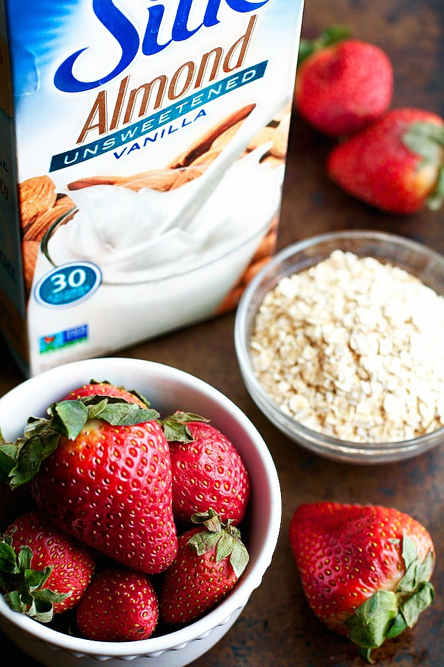 Strawberry Smoothie Ingredients