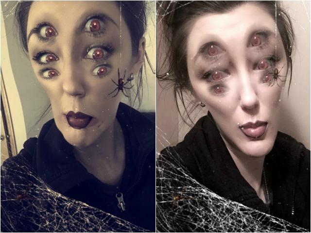 Creepy Spider Eyes
