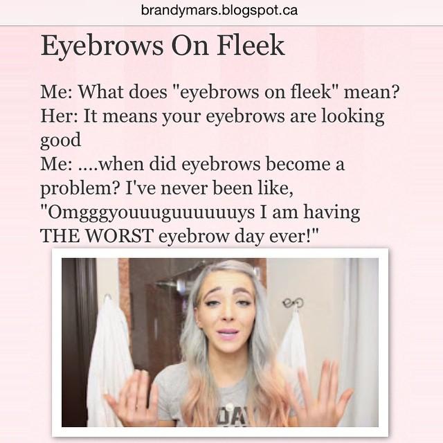 Eyebrow Problems