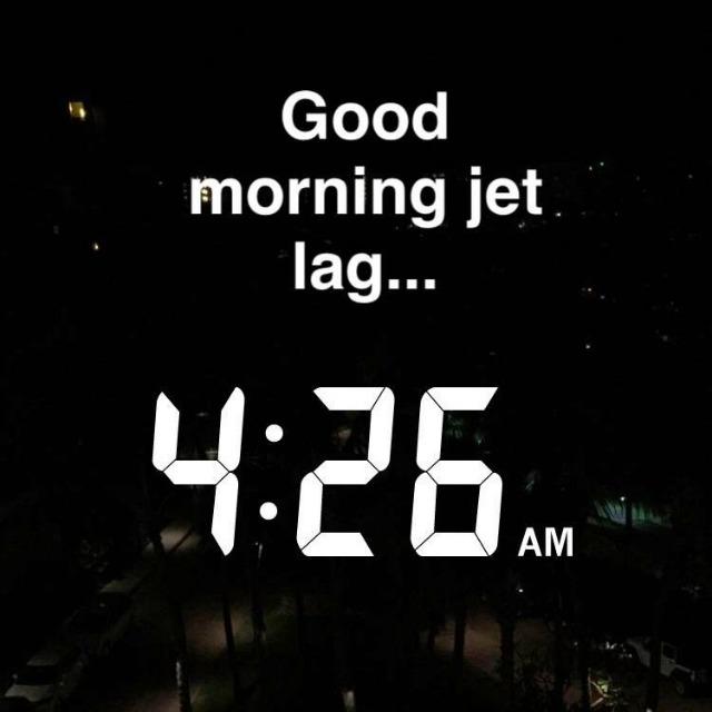 Good Morning Jet Lag