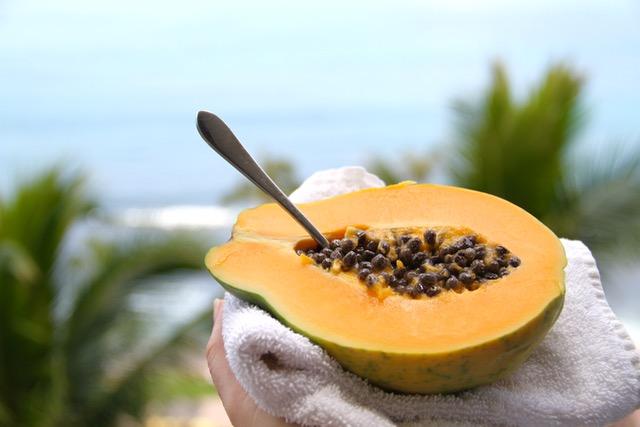 Local Hawaiian Papaya