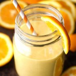 Orange Creamsicle Overnight Oatmeal Smoothie
