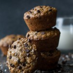 Chocolate Chip Oatmeal Cookie Muffins2