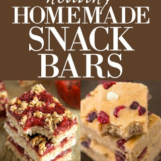 15 healthy homemade snack bars that are WAY better than store-bought