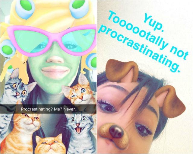 Procrastinating Snaps